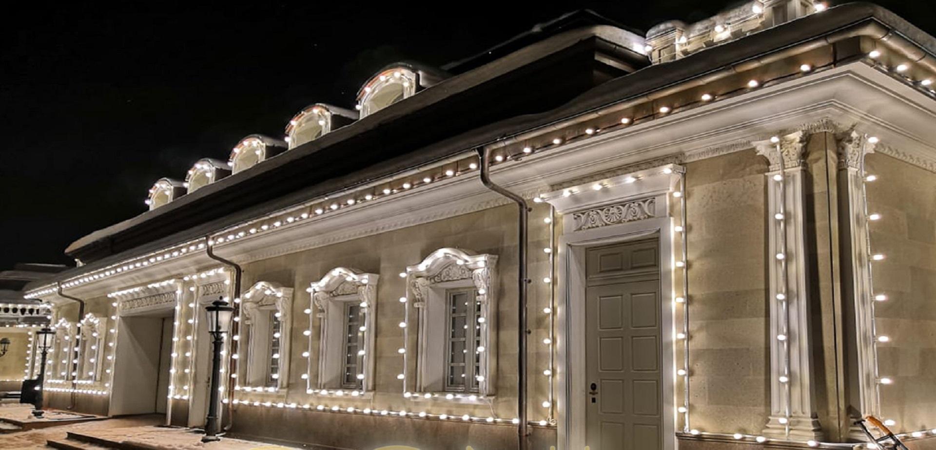 Декоративная и архитектурная подсветка